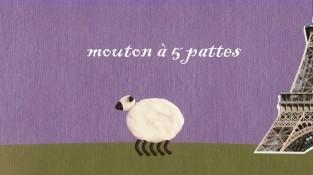 mouton a cinq pattes